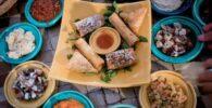 Comida marroquí realizada con aceite de argán durante los periodos del ramadan