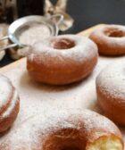 Rosquillas árabes para el té de canela, vainilla y azúcar con aceite de argán