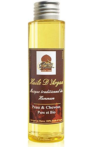 Aceite de Argán Cosmetico 100% BIO puro especialmente para cuidar el cabello. Rico en Vitamina E -100ml-