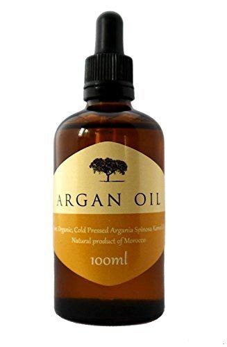 Aceite de Argán para cuidar tu pelo. BIO 100% Puro, con certificado ecológico (ECOCERT) y prensado en Frío para cuidar de tu pelo -100 ml-