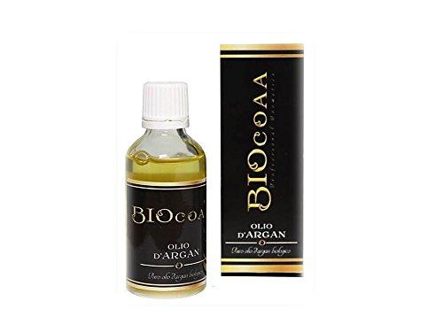 Aceite puro de Argán 100% con certificacion orgánica bio. Es un producto profesional para el cuidado de tu cabello. Mantiene el pelo sin encrespamiento- 50 ml -