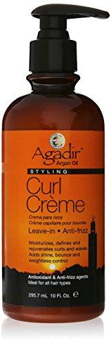 Agadir - Crema para rizos con aceite de Argán, 295, 7 ml