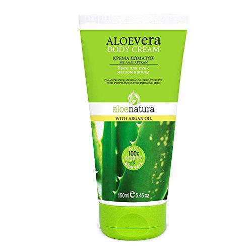 Aloe Natura crema corporal con aceite de argán, 1er Pack (1 x 150 ml)