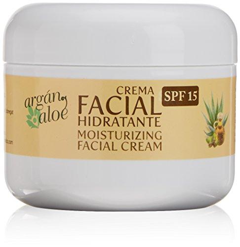 Argan-Aloe 70090 - Crema facial hidratante con aloe y argán