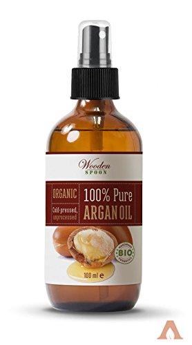 Aceite de Argán para el pelo Orgánico Bio Certificado 100% Puro procedente de marruecos. -100 ml-