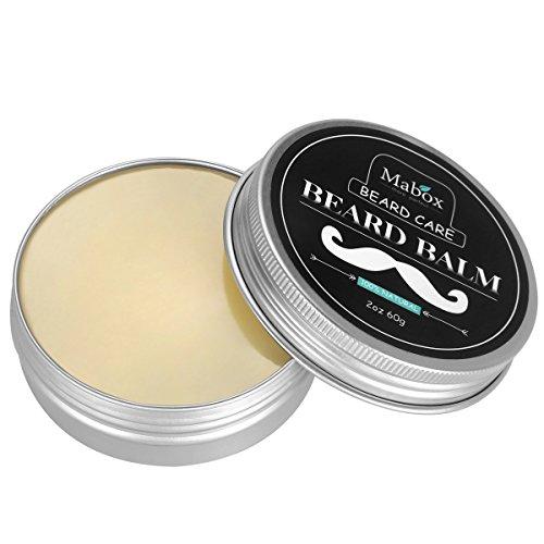 Bálsamo para cuidar la barba, 100% natural. Cera de abejas mezclada con aceite de Argán, aroma sándalo, extrato de jojoba, sustratos de árbol de té.