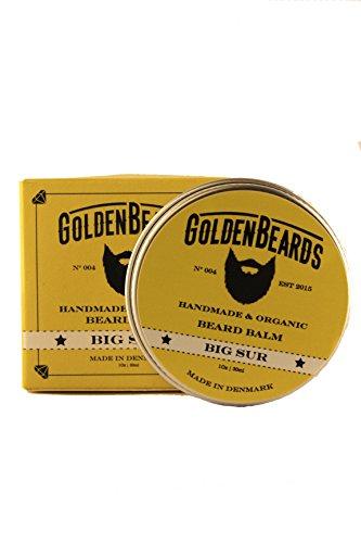 Bálsamo Orgánico para la barba con Aceite de Argán, Jojoba y Albaricoque. Hidrata tu barba y vigote, obteniendo una barba perfecta. - Big Sur - 30ml -Nuestros productos son 100% Orgánicos, Naturales y realizados a mano. Estimula el crecimiento de la barba 100% natural * Golden barbas * |