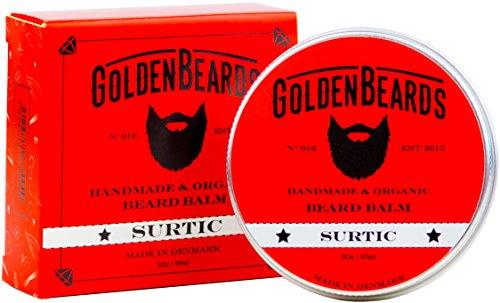 Bálsamo Orgánico para cuidar tu Barba. Hecho con Aceite de Argán, aceite de Jojoba y Albaricoque, hidrata tu barba y piel. 100% Orgánico y Natural. - Surtic - 30ml
