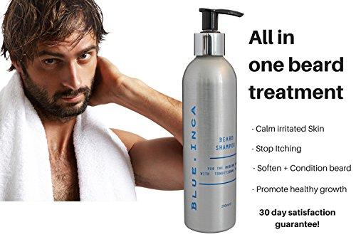 El único champú acondicionador intensivo para el pelo de la barba con todas las propiedades de aceite de Argán.