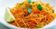 Ensalada fácil de zanahoria árabe