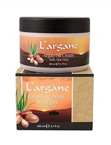 Lanzaloe Crema de aceite de Argán con Aloe Vera 200ml