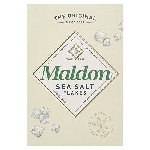 Maldon - Escamas De Sal Marina, 125 g - [pack de 3]