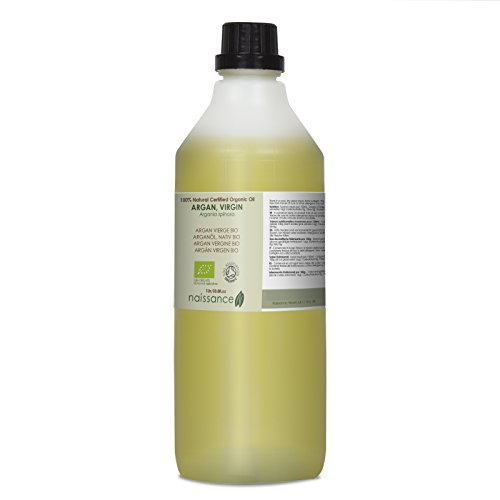 Naissance Argán Virgen BIO - Aceite Vegetal 100% Puro - Certificado Ecológico - 1 Litro