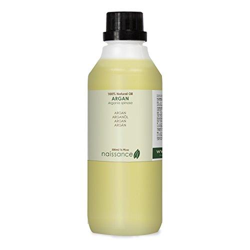 Aceite Argán para cuidar de tu pelo - Aceite Virgen de Argán 100% Puro -500 ml-Naissance