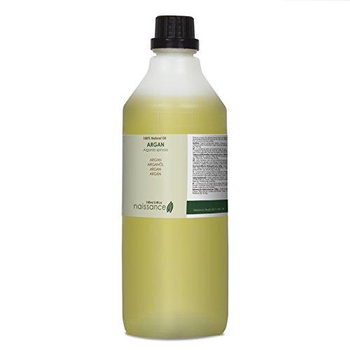 Aceite Argán para cuidar de tu pelo - Aceite Virgen de Argán 100% Puro -1000 ml- Naissance