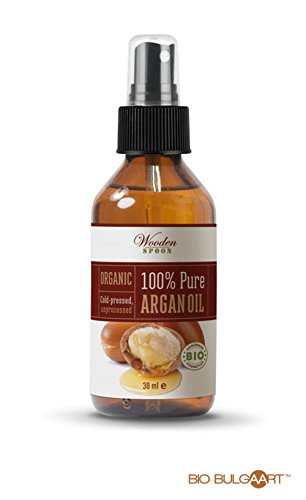 Aceite de Argán Bio 100% puro de marruecos. Aceite orgánico certificado para cuidar de tu pelo como se merece -30 ml-Orgánica Aceite de Argán-