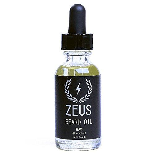 Acondicionador de aceite de Argán para la barba totalmente natural. También contiene aceite de semilla de uva y vitamina E -Zeus -