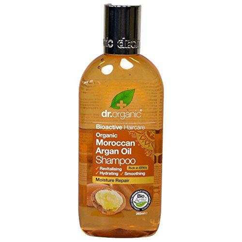 Dr. Organic Aceite de Argán marroquí Champú–Suave & Shine 265ml