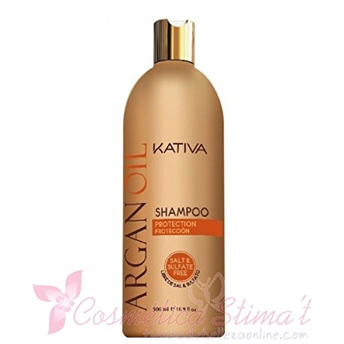 Kativa Argan Oil Champú Sin Sal Ni Sulfatos 250 ml.