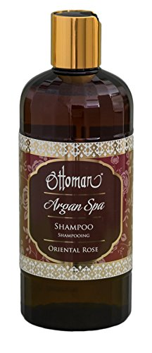 Ottoman Argan Spa Champú, Oriental Rose, 1er Pack (1 x 400 ml)
