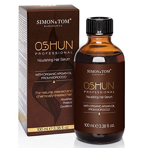 Simon & Tom – Serum nutritivo para controlar el encrespamiento y el pelo rizado – 100ML – Con Aceite de Argán Orgánico