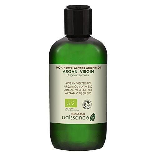 Naissance Argán Virgen BIO - Aceite Vegetal 100% Puro - Certificado Ecológico - 250ml